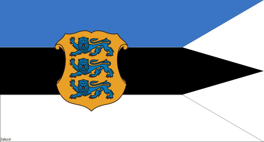 عکس پرچم کشور استونی