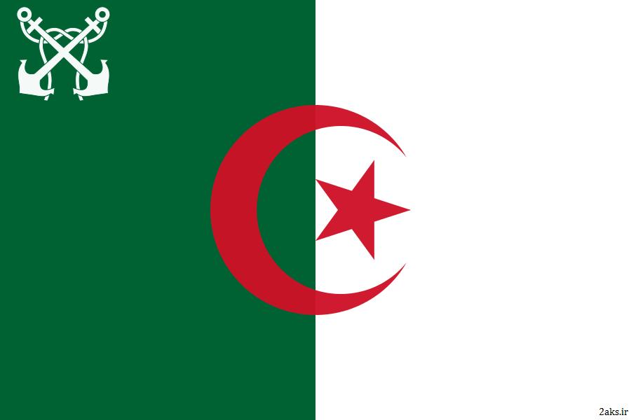 عکس پرچم کشور الجزایر