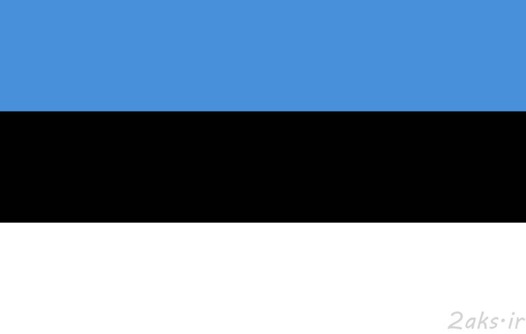 پرچم کشور استونی