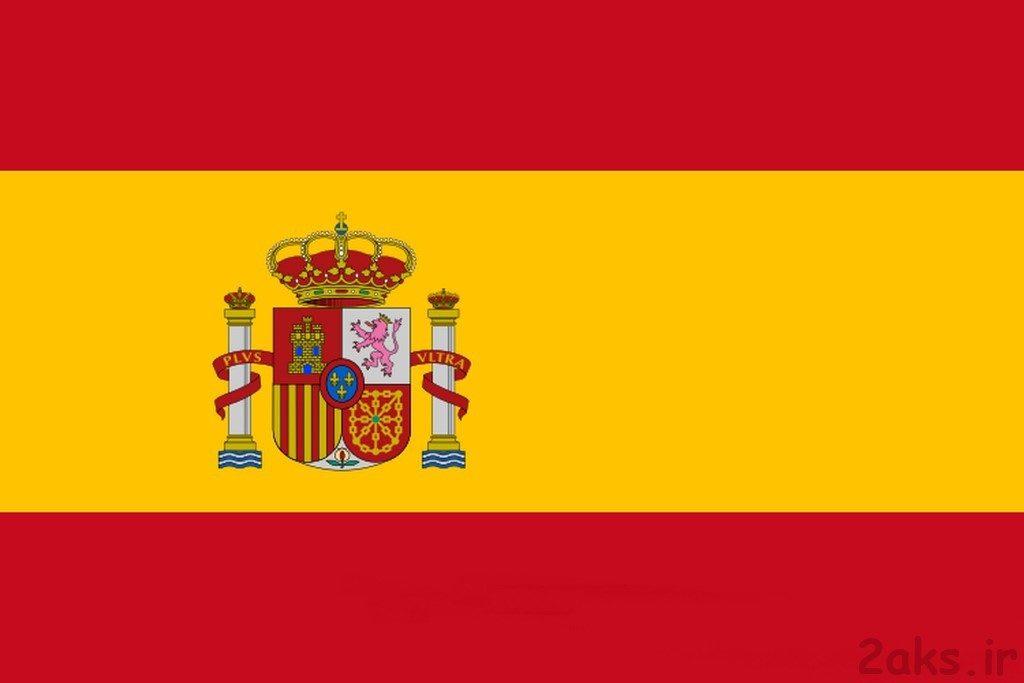 پرچم کشور اسپانیا
