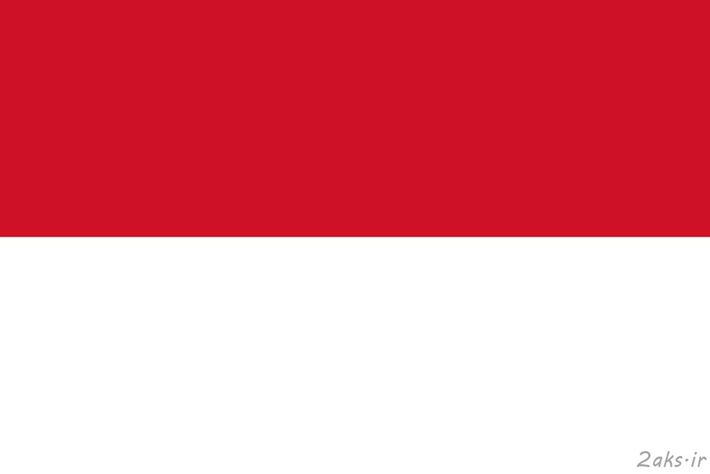 پرچم کشور اندونزی