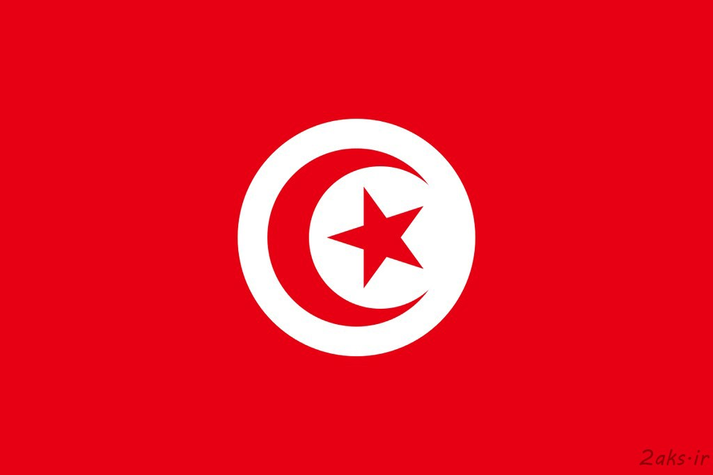 پرچم کشور تونس