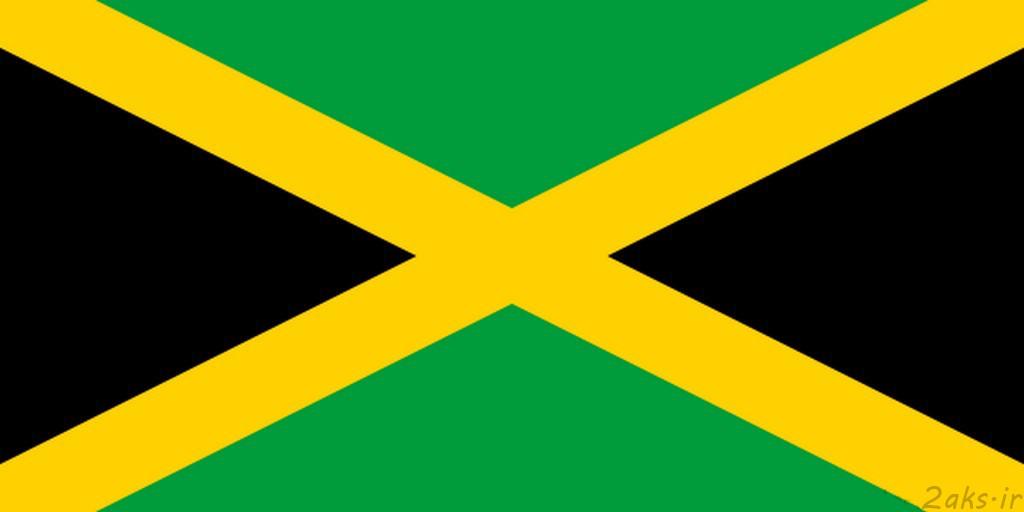 پرچم کشور جامائیکا