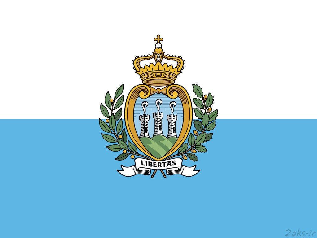 پرچم کشور سن مارینو