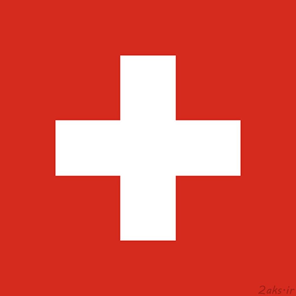 پرچم کشور سوئیس