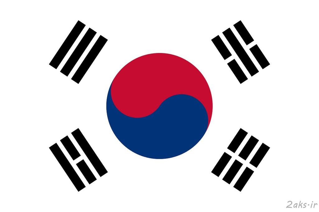 پرچم کشور کره جنوبی
