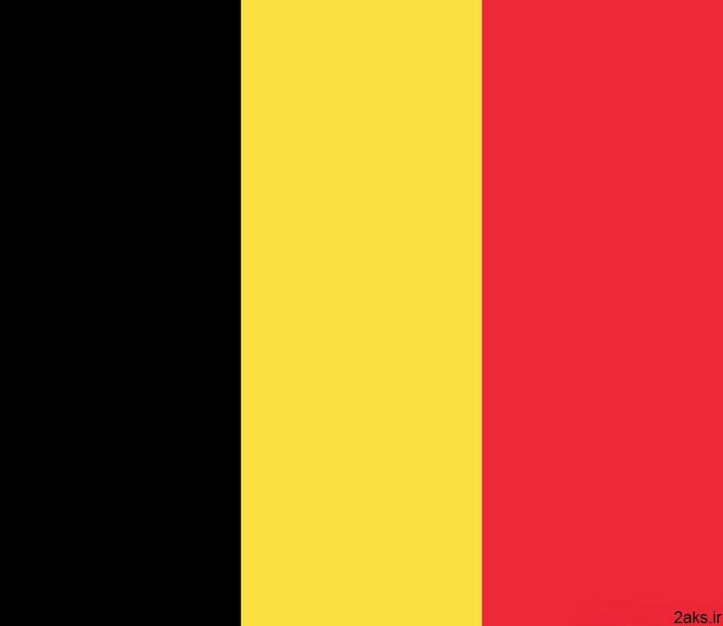 پرچم کشور بلژیک