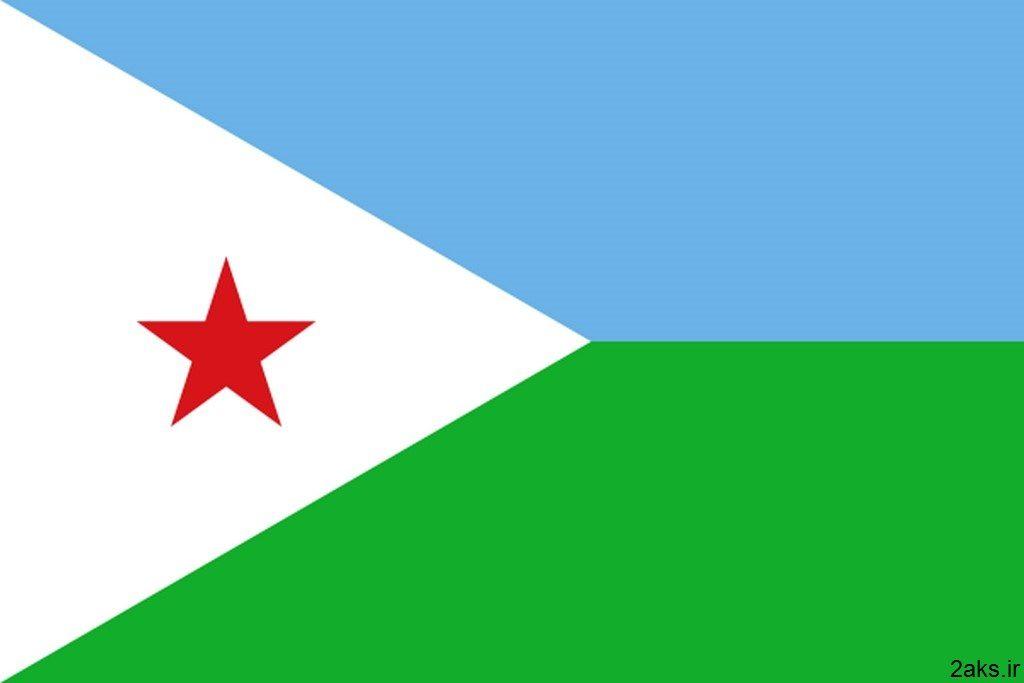پرچم کشور جیبوتی