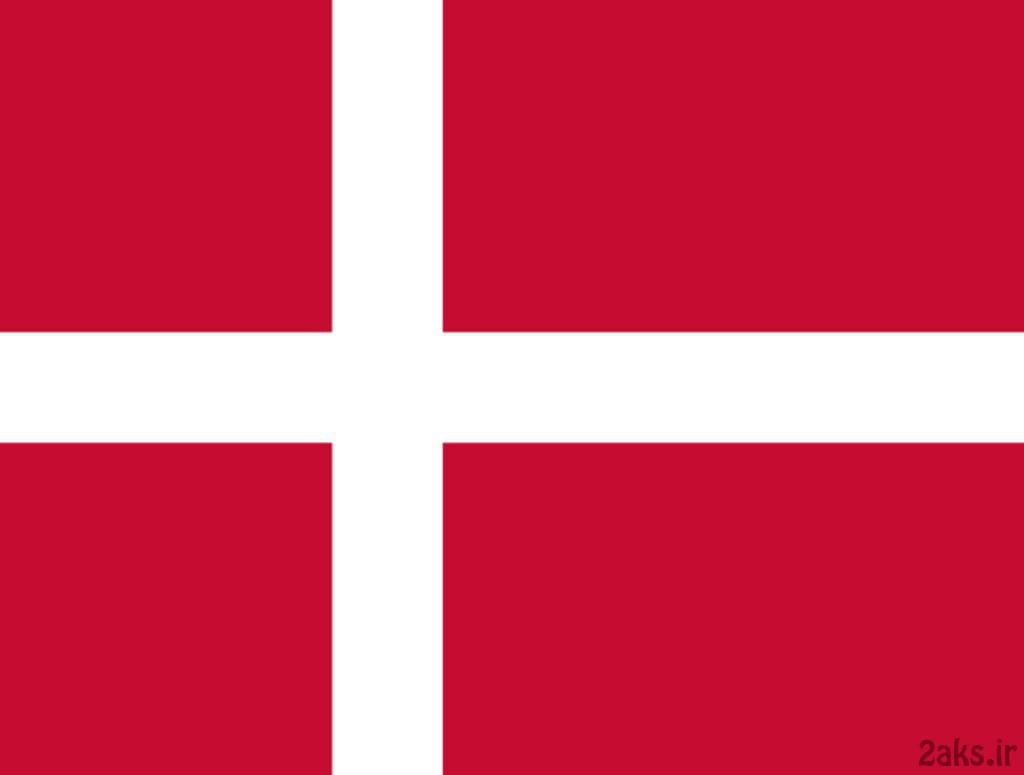 پرچم کشور دانمارک
