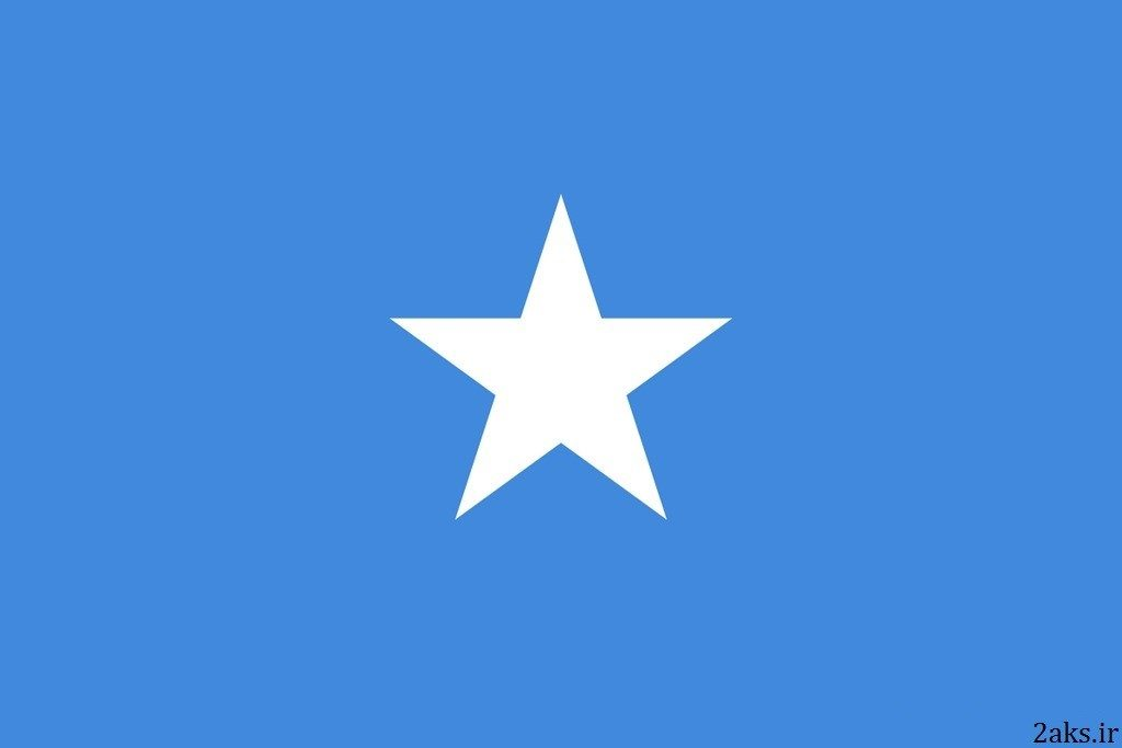 پرچم کشور سومالی