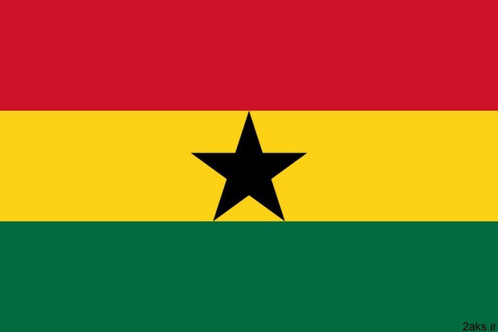 پرچم کشور غنا