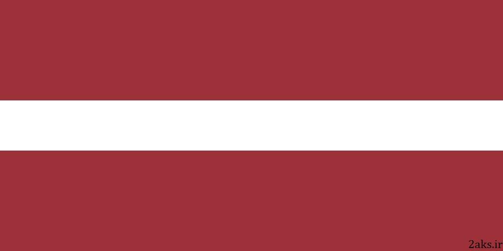 پرچم کشور لتونی