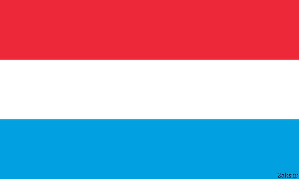 پرچم کشور لوکزامبورگ