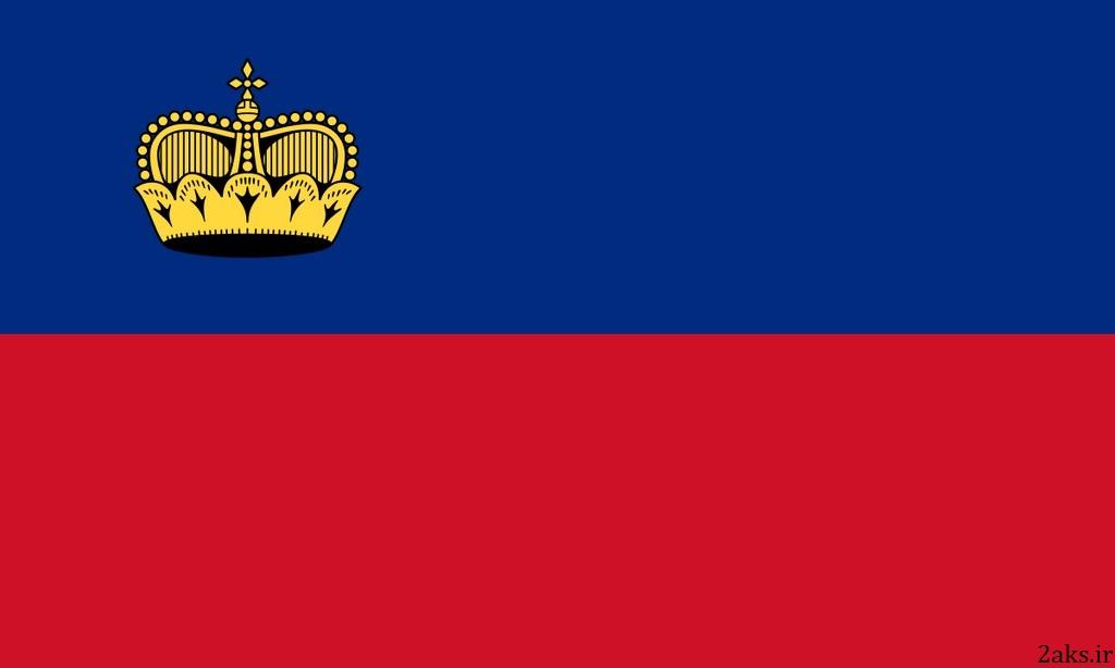 پرچم کشور لیختناشتاین