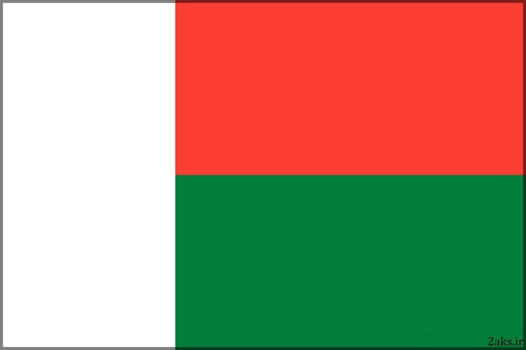 پرچم کشور ماداگاسکار