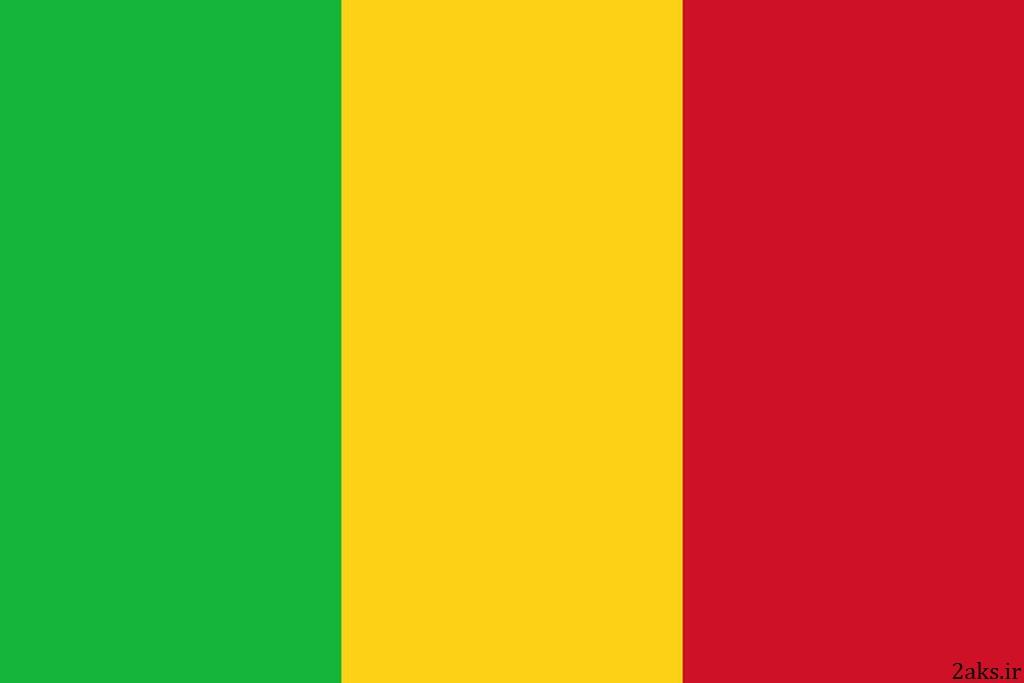پرچم کشور مالی
