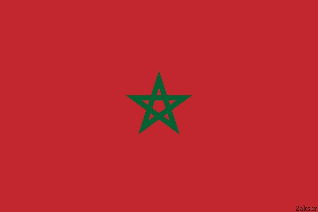 پرچم کشور مراکش