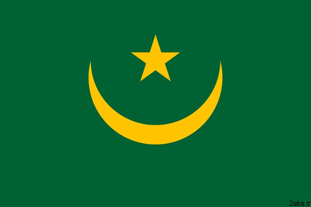 پرچم کشور موریتانی