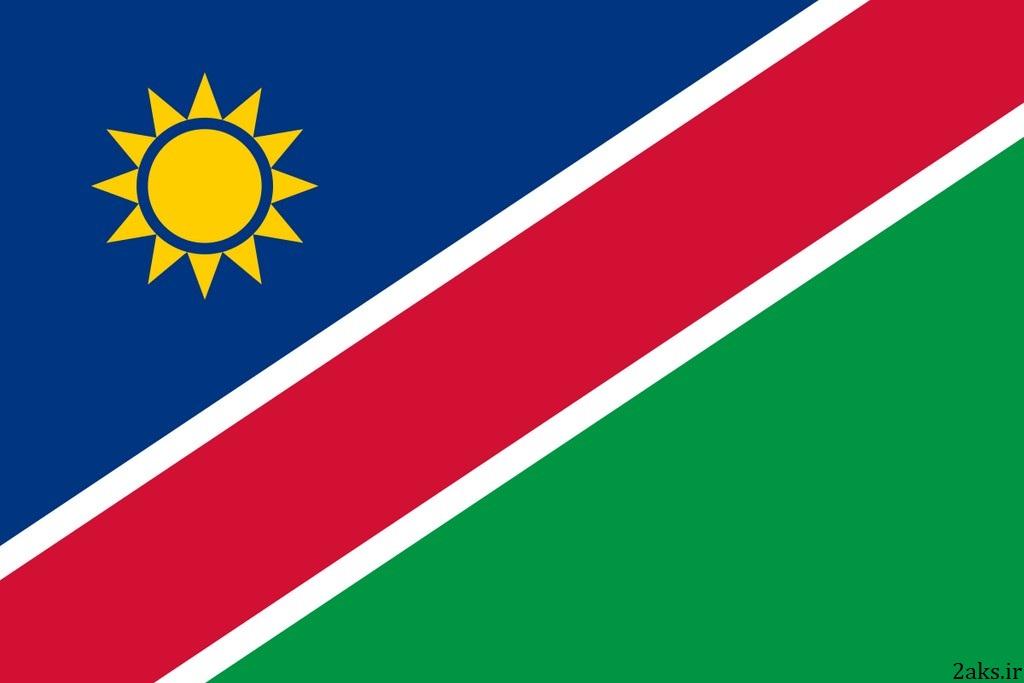 پرچم کشور نامیبیا