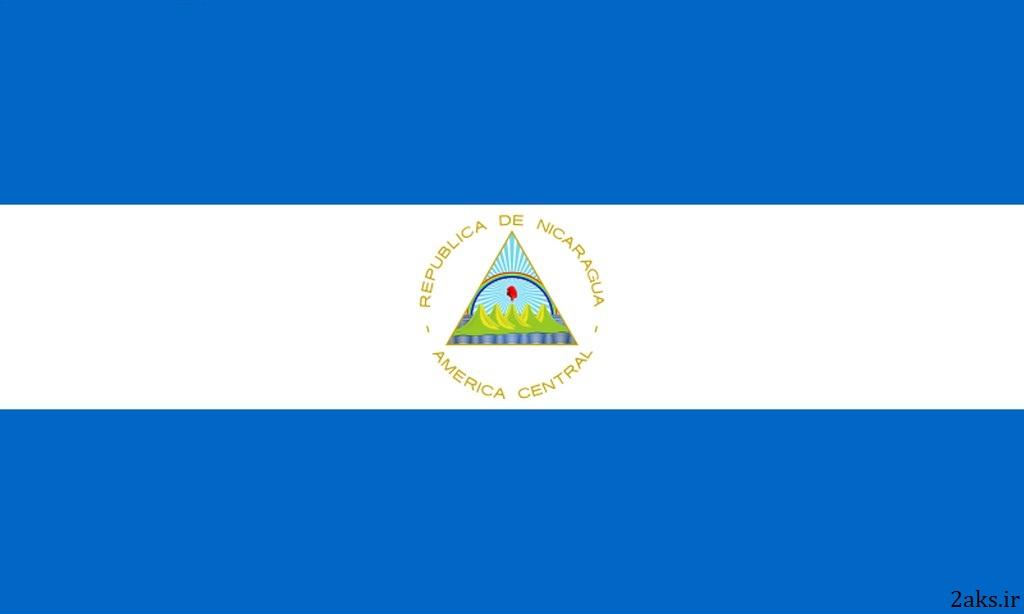 پرچم کشور نیکاراگوئه
