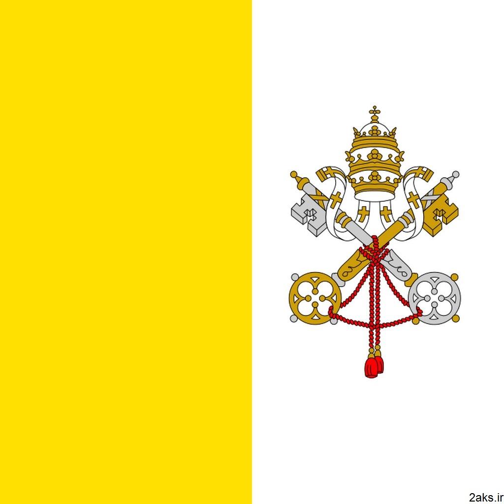 پرچم کشور واتیکان