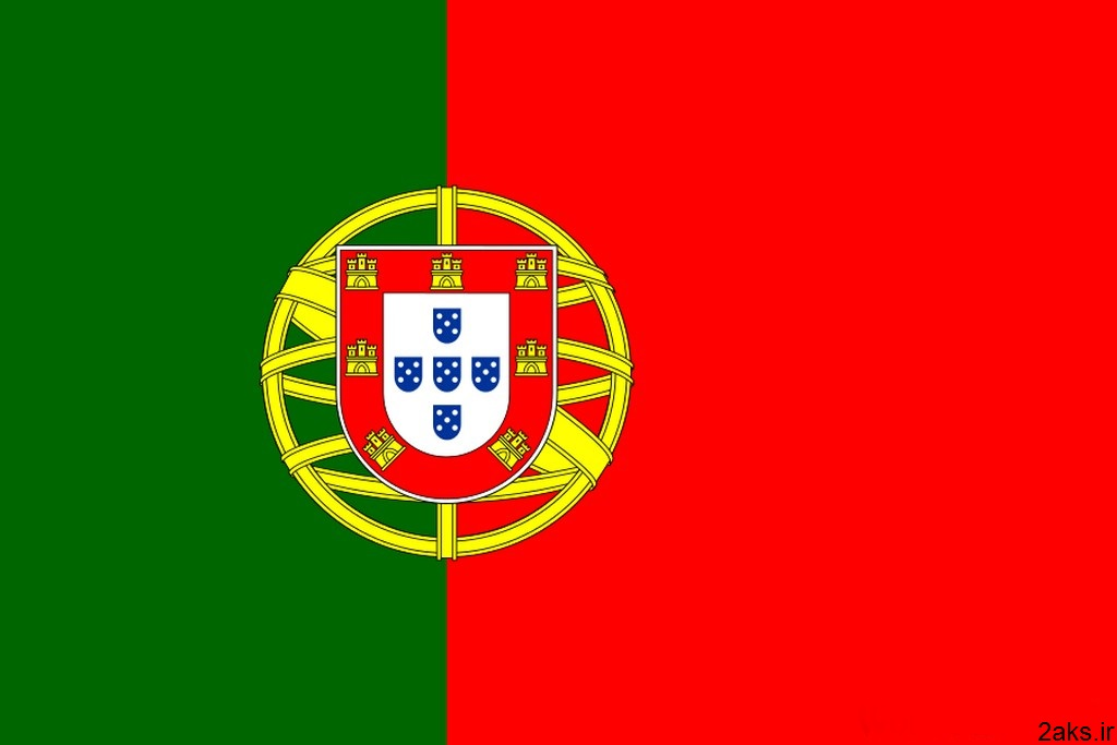پرچم کشور پرتغال