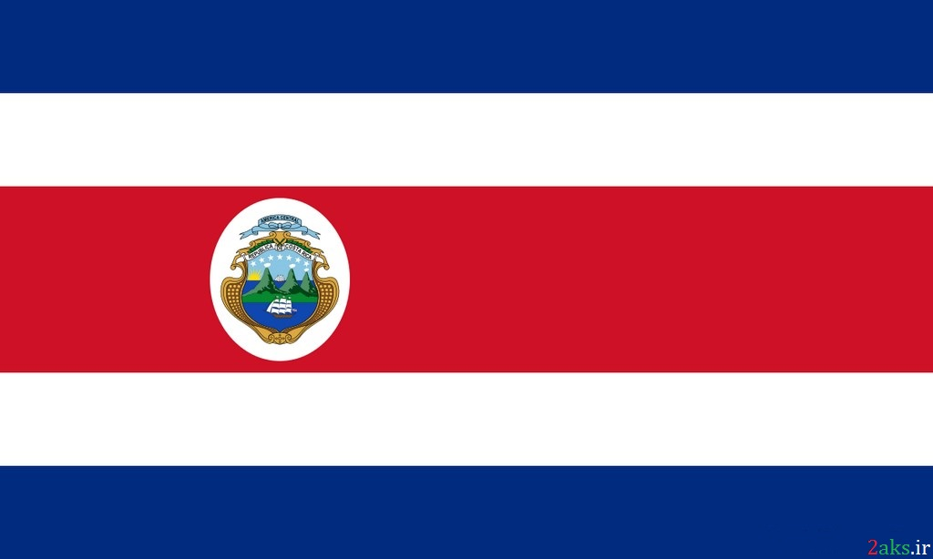پرچم کشور کاستاریکا