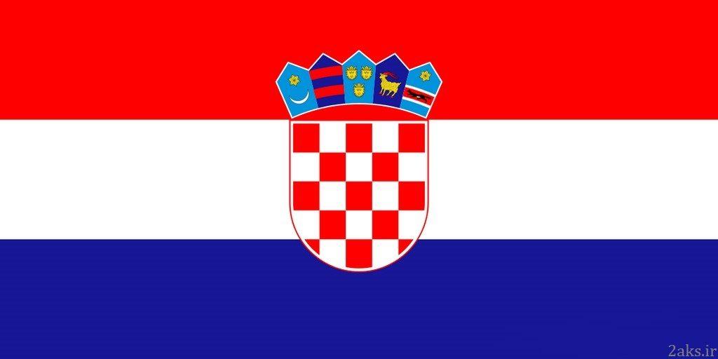 پرچم کشور کرواسی
