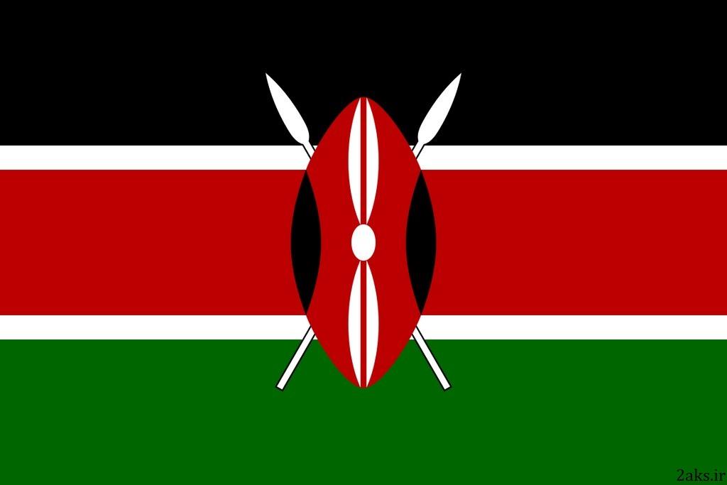 پرچم کشور کنیا