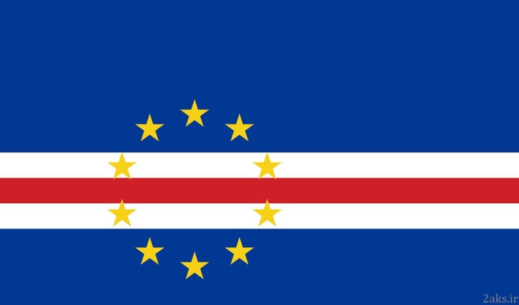 پرچم کشور کیپ ورد