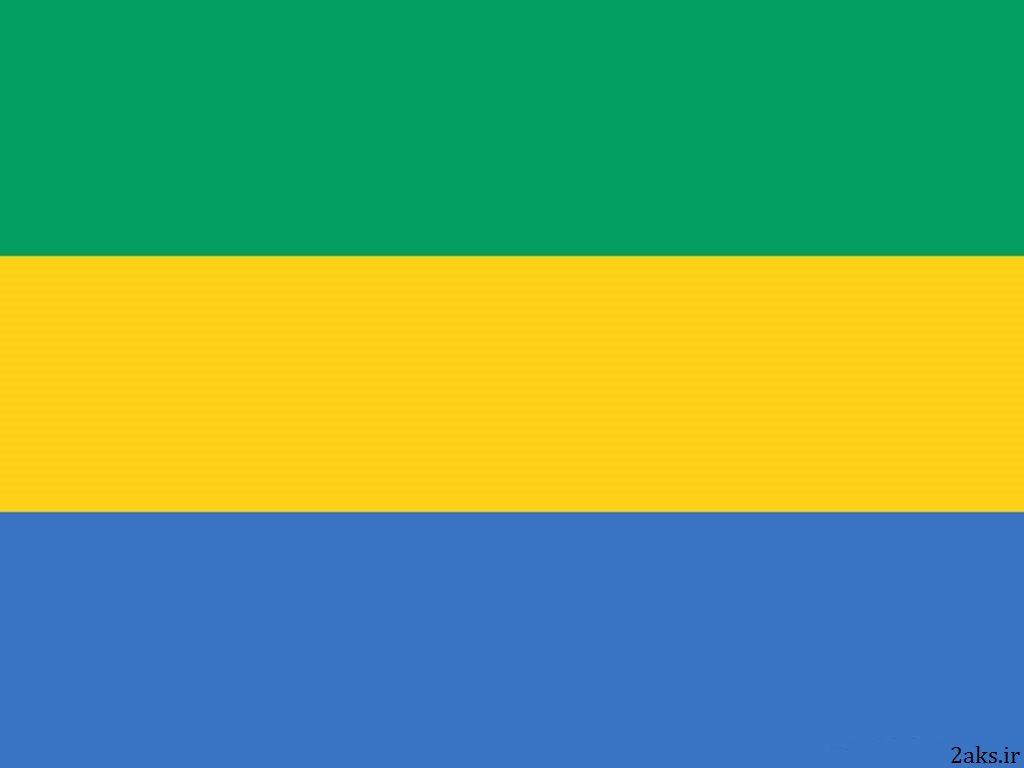 پرچم کشور گابن