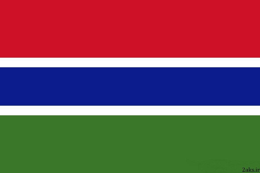 پرچم کشور گامبیا