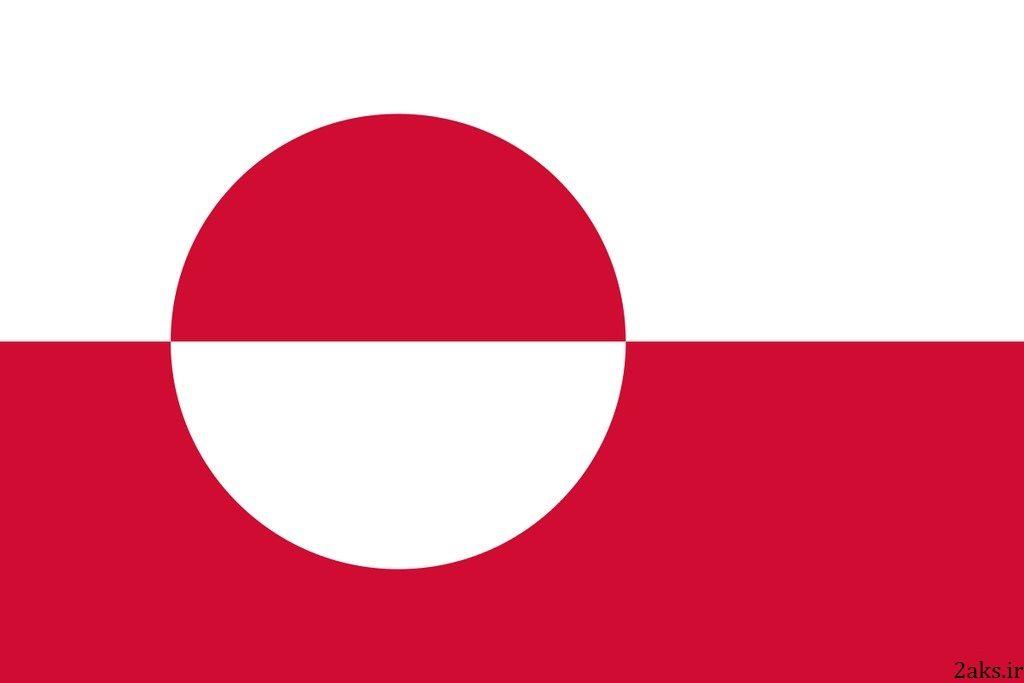 پرچم کشور گرینلند