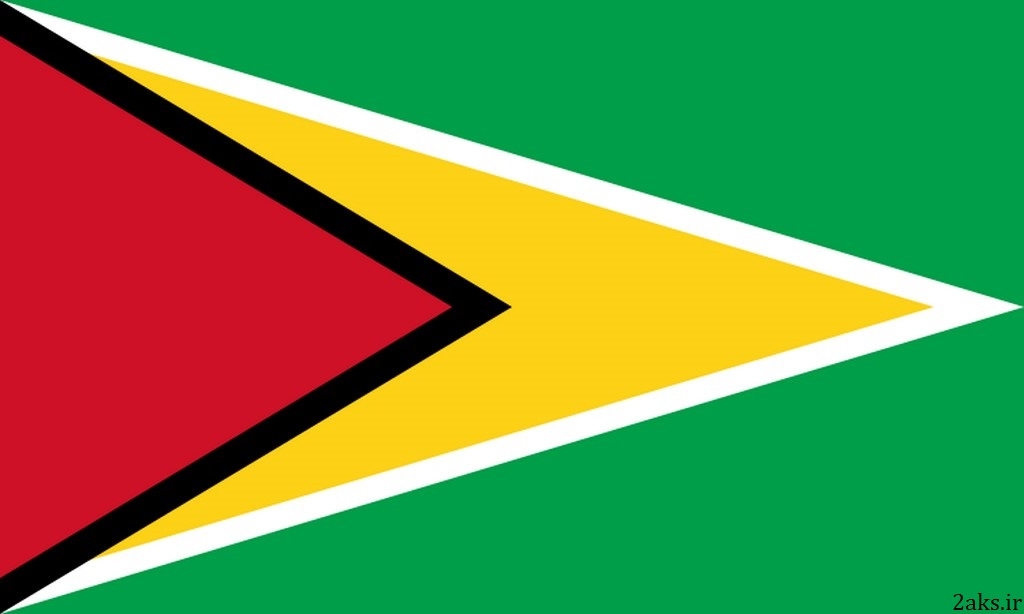 پرچم کشور گویان