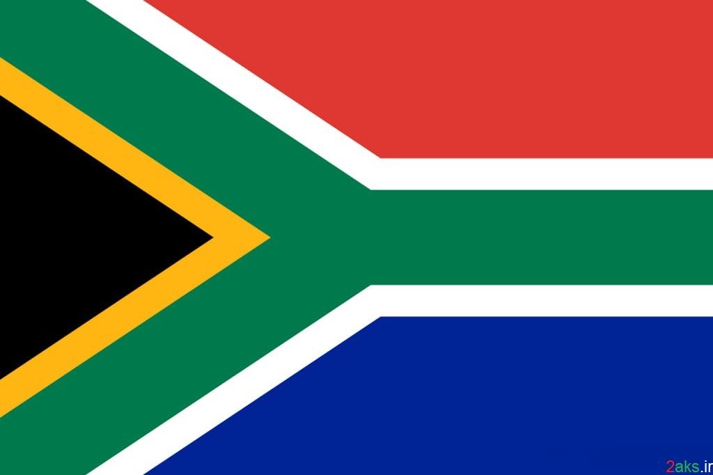 پرچم کشور آفریقای جنوبی