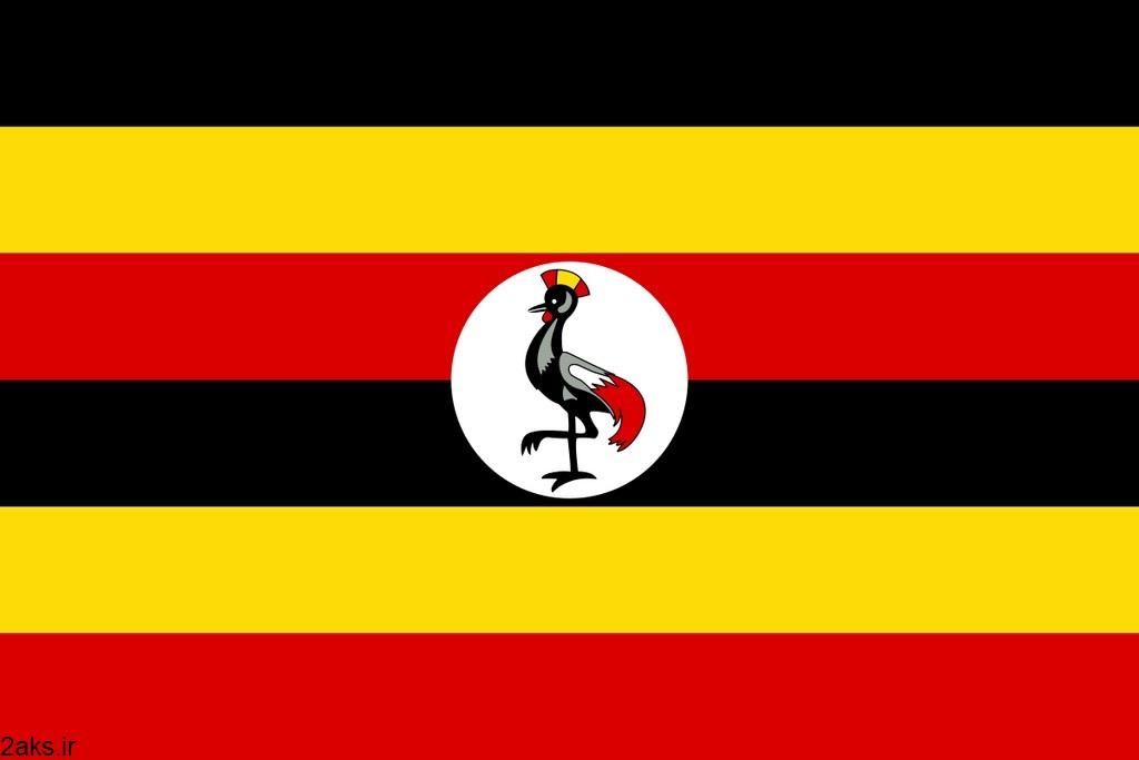 پرچم کشور اوگاندا