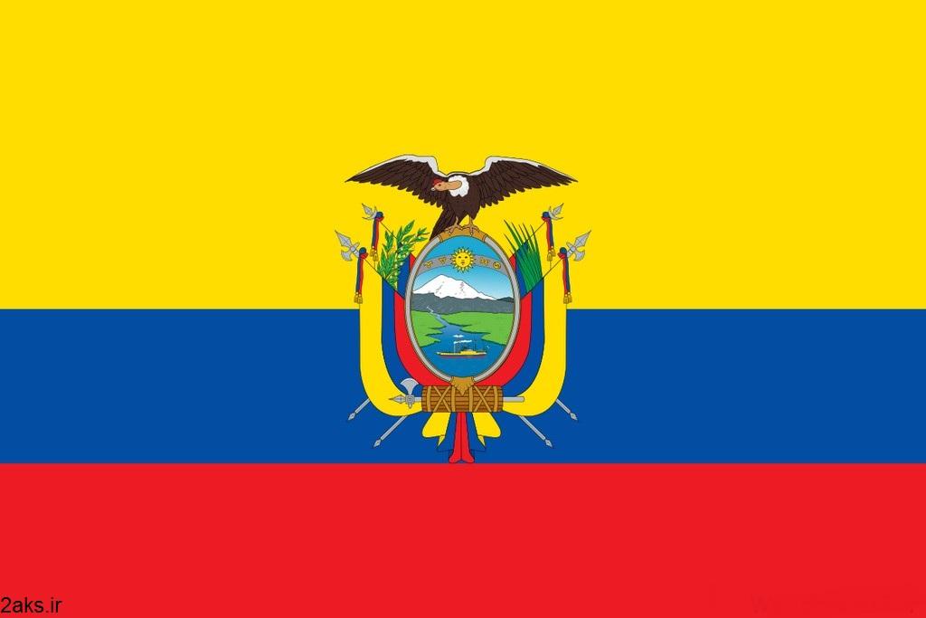پرچم کشور اکوادور