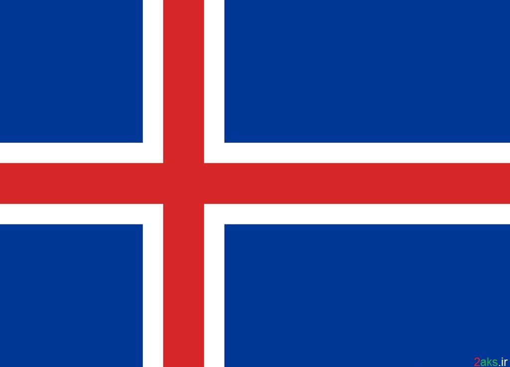 پرچم کشور ایسلند