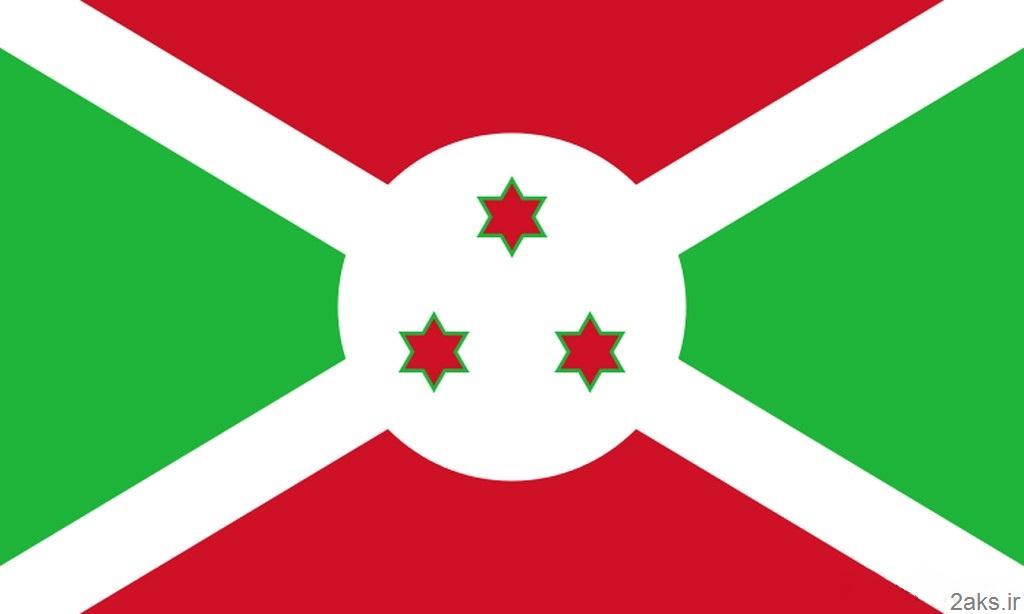 پرچم کشور بوروندی