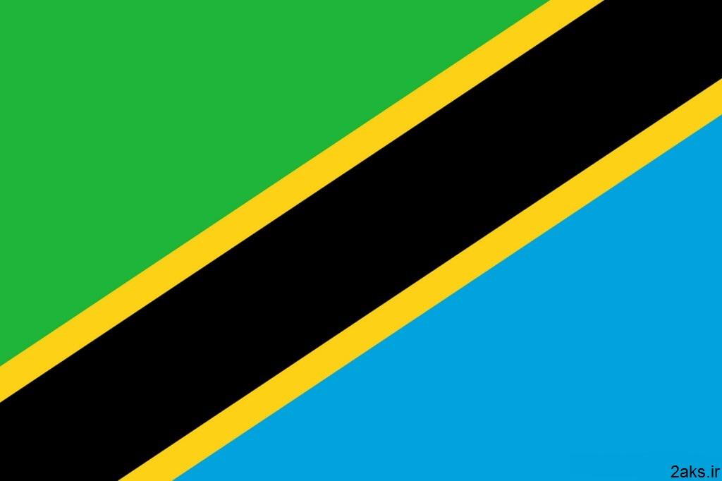 پرچم کشور تانزانیا