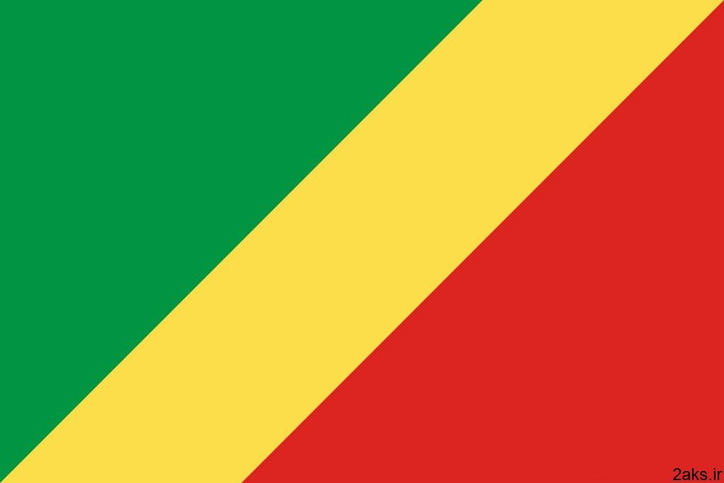 پرچم کشور جمهوری کنگو