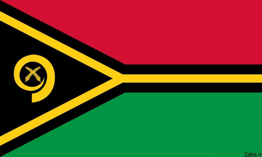 پرچم کشور وانواتو