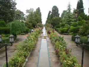 تصاویر باغ چهل ستون