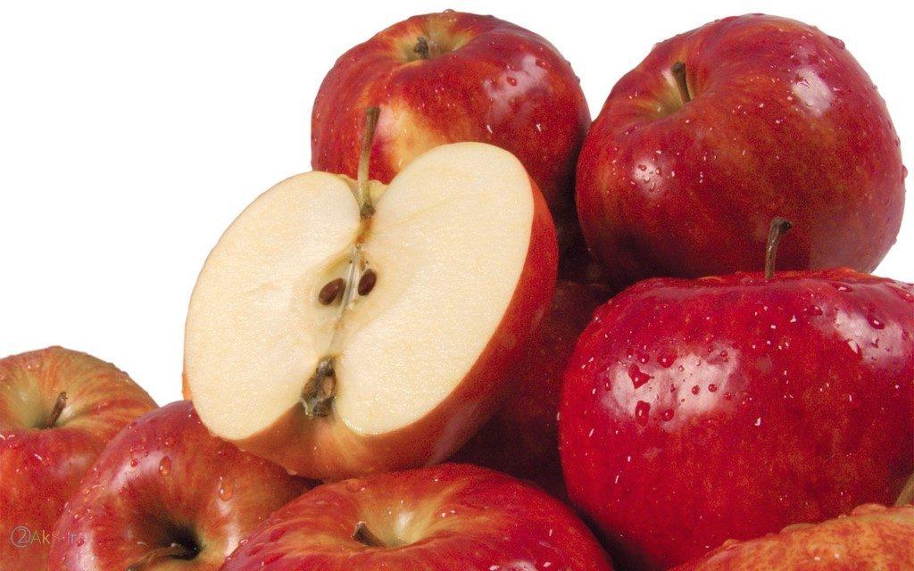 تصاویر سیب قرمز