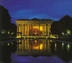 تصاویر کاخ چهل ستون