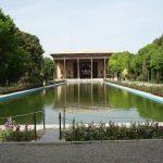 تصویر باغ چهل ستون