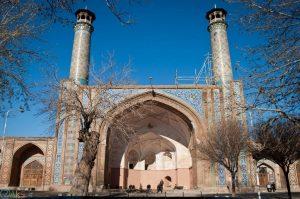 تصویر دروازه کوشک قزوین