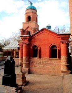 تصویر کلیسای کانتور قزوین