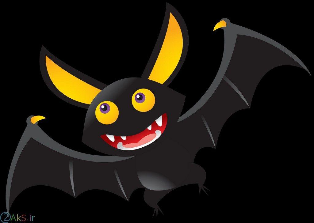 عکس انیمیشنی خفاش