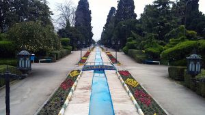 عکس باغ چهل ستون